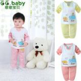 New Original Cartoon Elephant Spring Autumn Baby  Boy Girl Set Clothing Sets Tops+Pants 2pcs Babies Cotton Suits For Newborn Baby