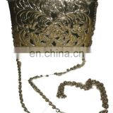 vintage METAL CLUTCH BAG,