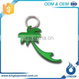High Standard Oem Production Embossed Key Ring Bottle Opener Holder Wholesale Blank Keychain