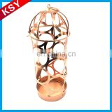 New Product Competitive Price Simple European-Style Antique Metal Artillery Type Wine Bottle Holder Rack