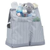 full printed fabric hobo diaper bag with shoulder