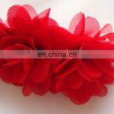Fashion handmake fabric flower hairclip