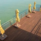 outdoor decking floor for swimming pool