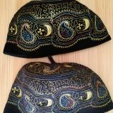 Africa embroidered wool cap  /  Muslim embroidered wool cap /  Muslim  wool cap