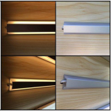 Up and down Light for wood shelf