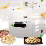 High efficiency medicine slicer machine herbal processing machine for tobacco herbal cutting chipping slicing and flaking