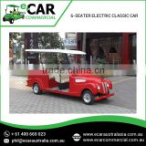 Classic Design Electric Auto Classic Cars with Long Lasting Battery