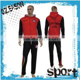 plus size dri fit womens/mens velour tracksuit set for sports training in autumn and winter