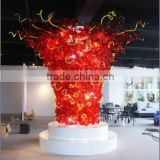 Modern Large Glass Decorative Sculpture