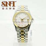 SNT-ME070 stainless steel self-winding mechanical watches stainless steel metal case back watch