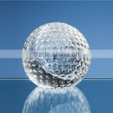 Low price clear golf paperweight crystal ball paperweight crystal golf paperweight