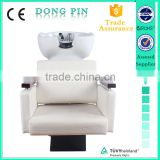 beauty salon equipment shampoo bowl chair for barber shop