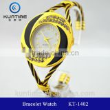 australia hot sell watch beautiful crystal watch glass face bangle watches for girls new 2014 bracelet watch