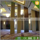 Movable sound proof partition wall for room division