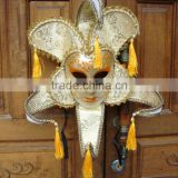 wholesale custom party supplies face Mask venetian masks hanging ear princess full face mask