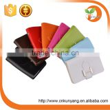 Various styles customized pu leather card holder, id card holder name card holder wholesale