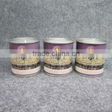 Memorial Candle In Tin for Yahrzeit and Yom Kippur, Jewish Candle, Religious Candle, Tin Candle