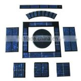 small solar panel modules with different size