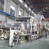 High Quality 2400mm Book Paper Printing Paper Machine Dingchen Machinery Price