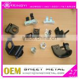 Laser cutting metal parts/ metal parts with black powder coating/China direct factory for metal parts