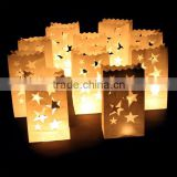 Luminaria Paper Lantern Candle Bag For Xmas BBQ Party Wedding