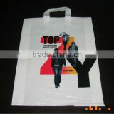 biodegradable top quality custom printed length handle die cut handle plastic bag for shopping