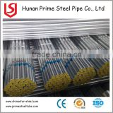 Factory price ASTM zinc coated round steel pipe hot dip galvanized steel pipe for building material