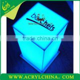 2014 LED Event Table perspex glow tables Bar display stand