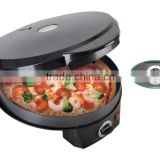Portable Appliance Pizza Bake Oven Countertop Pizza Maker Electric Rotating Pan