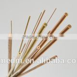 Dia 1.0mm Copper Electrode Tube