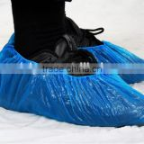 Disposable PE shoe cover with print for foot protective