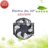 10inch radiator fan Thermo fan electric cooling fan with mounting kit Curved Blade /Condenser Fan