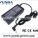 High Quality CE FCC RoHS Universal Notebook AC Adapter 60W for Acer 19V 3.42A Connector Size: 5.5mm*1.7mm