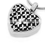 cremation pendants heart in stainless steel keepsake jewelry cremation jewelry urns pet pendants urns