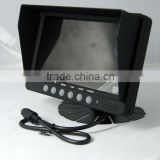 Heavy-duty Digital motorized Security in dash car 12v lcd monitor composite input with av input and touchscreen