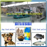 China gold suppller factory price output from 100kg/h-2000kg/h pet food pellet processing making machine
