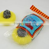 2pc good quality kitchen stainless steel spong scourer