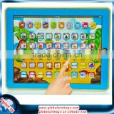 y-pad learning& education machines russian baby toy abc teaching touch screen pad gw-tys2911b