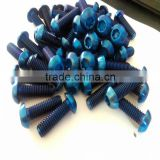 iso14580 Hex socket allen tapered head GR5 Titanium bolt price for bicycle /motorcycle in stock
