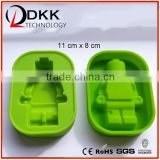 DKK-B026 Robot shapes 1 cavity silicone chocolate making mold