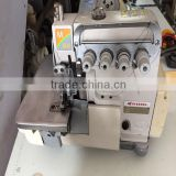 Useful high speed second hand pegasus M-800 four thread overlock indutrial sewing machine