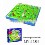 Various items funny magnetic board game