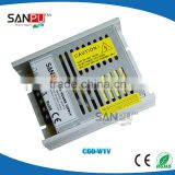 Sanpu new sale ultra thin 60w 12v led strip single output open frame 12v power supply with battery backup