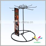New modern metal material table top rotating display stand