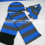2011 knitting hat mitten scarf kids sets