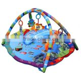 NEW Baby Musical Activity Baby Play Mat, Play gym Mat Ocean Sealife Design