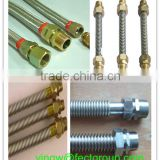 stainless steel corrugated flexible metal solar hose/solar water heater hose/solar heater with hose