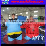 XIXI Inflatable Sport Games Batman and Spiderman Sumo Wrestling Suits
