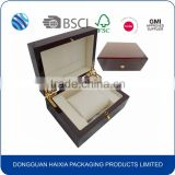 Alibaba Wholesale Personalized Luxury High Glossy Single Wooden Watch Box with Pillow                                                                         Quality Choice