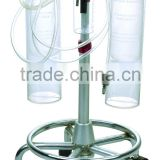 Obtetric medical vacuum extractor suction tube catheter